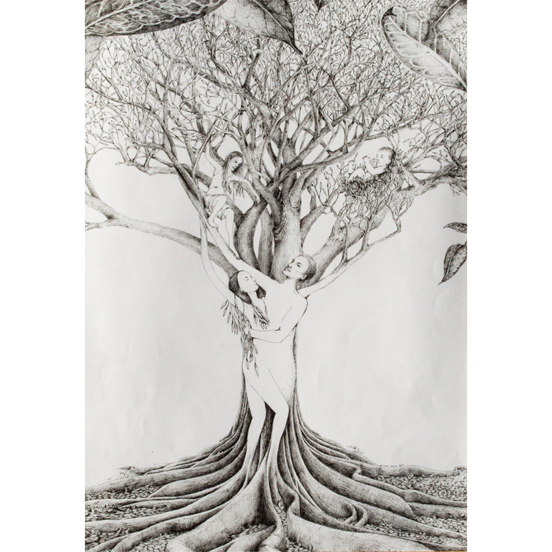 Michael Stacey Art - Family Tree