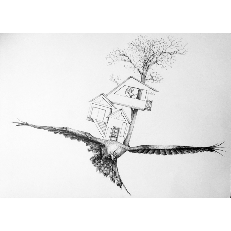 Michael Stacey Art - Birdhouse