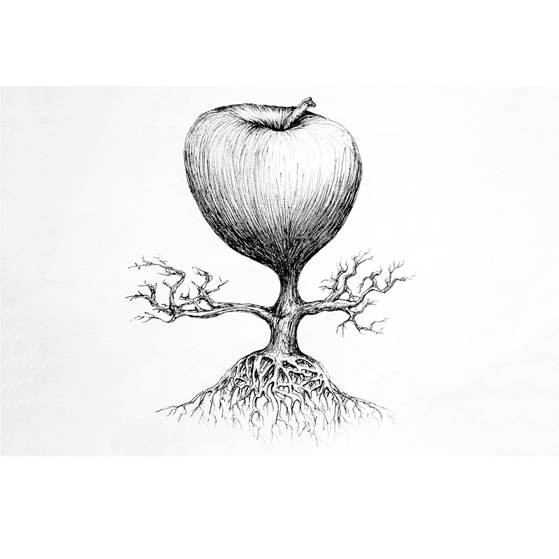 Michael Stacey Art - Apple Tree